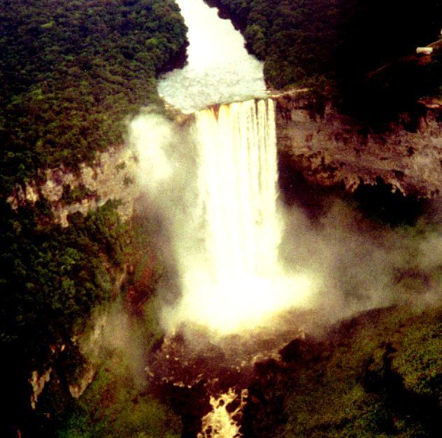 Kaiteur Falls=180 pixels wide